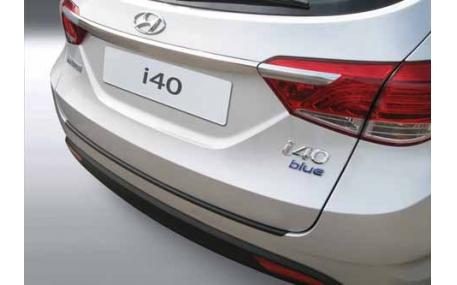 Накладка на задний бампер Hyundai i40 SW