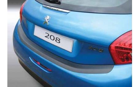 Накладка на задний бампер Peugeot 208