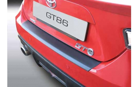 Накладка на задний бампер Toyota GT86
