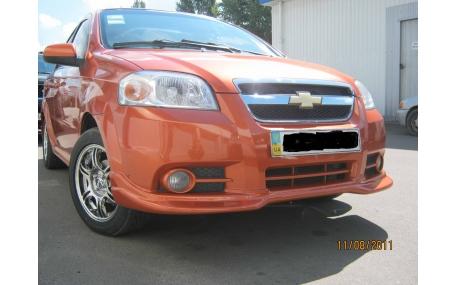 Накладка передняя Chevrolet Aveo T250