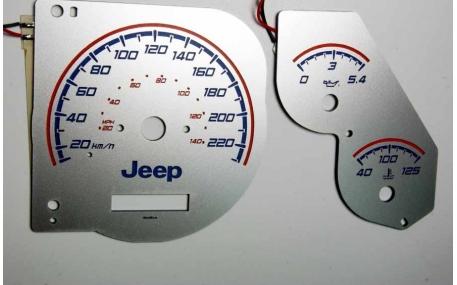 Шкалы приборов Jeep Grand Cherokee