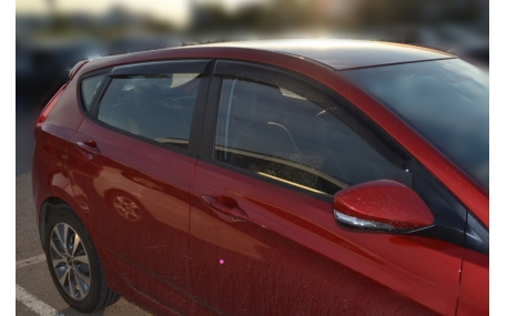 Дефлекторы окон Hyundai Accent
