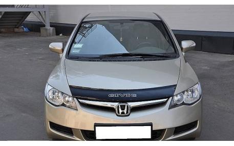 Дефлектор капота Honda Civic 4D