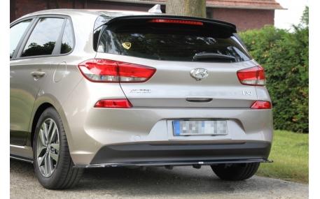 Накладка задняя Hyundai I30 Mk3