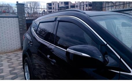 Дефлекторы окон Hyundai Grand Santa Fe