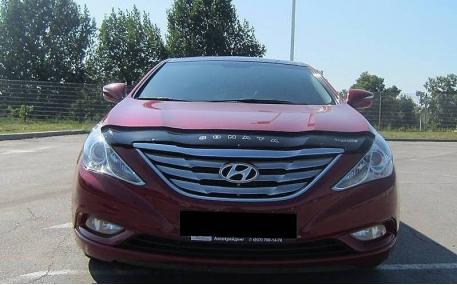 Дефлектор капота Hyundai Sonata YF