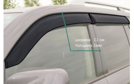 Дефлекторы окон Kia Cerato