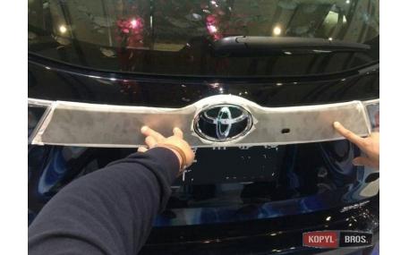 Хром накладки Toyota Highlander