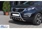 Защита передняя Kia Sportage R