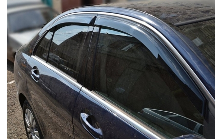 Дефлекторы окон Mercedes C-class W205