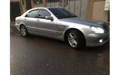 Дефлекторы окон Mercedes S-class W220