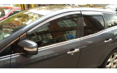 Дефлекторы окон Mazda CX-7