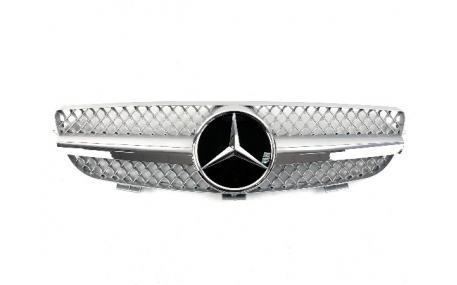 Решетка радиатора Mercedes CLK-class W209