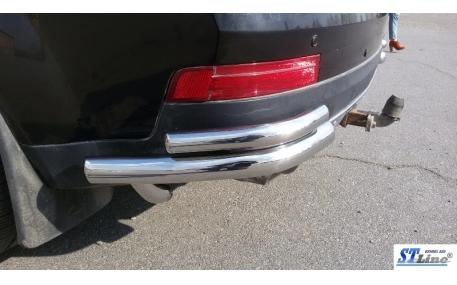 Защита задняя Mercedes GL-class X164
