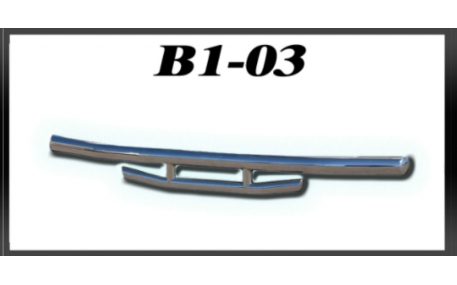 Защита задняя Mercedes ML-class W164