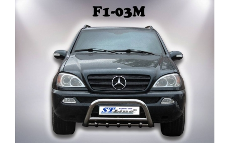 Защита передняя Mercedes ML-class W163