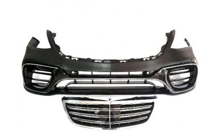 Бампер передний Mercedes S-class W222