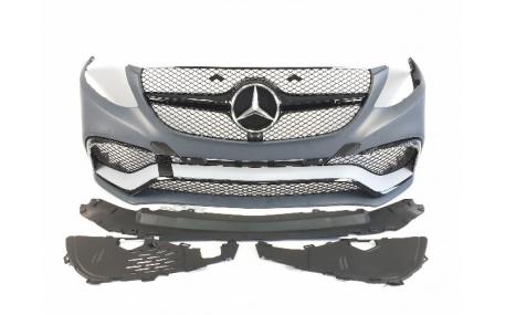 Бампер передний Mercedes GLE-class W166