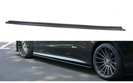 Накладки на пороги Mercedes E-class W213