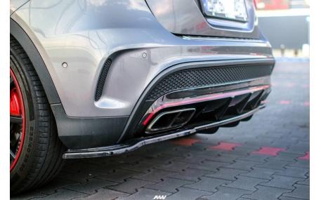 Накладка задняя Mercedes GLA-class X156
