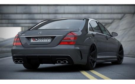 Бампер задний Mercedes S-class W221
