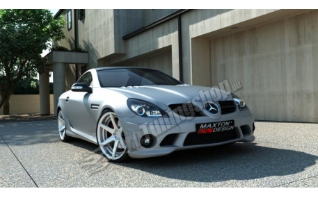 Бампер передний Mercedes SLK-class R171