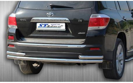 Защита задняя Mitsubishi Pajero Wagon