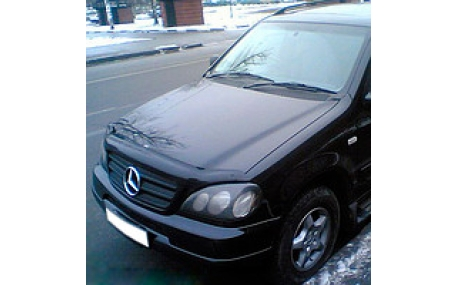 Дефлектор капота Mercedes ML-class W163