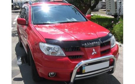 Дефлектор капота Mitsubishi Outlander