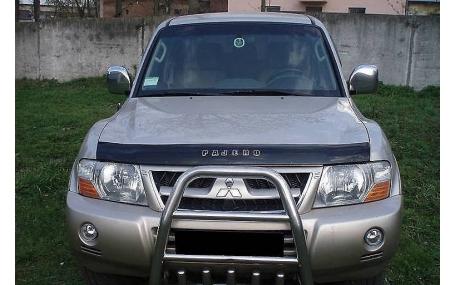 Дефлектор капота Mitsubishi Pajero Wagon