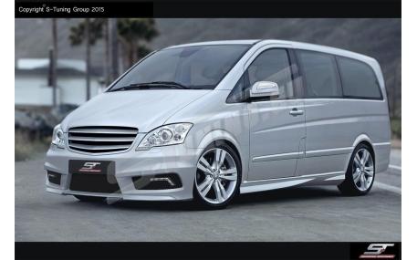 Бампер передний Mercedes Vito W639