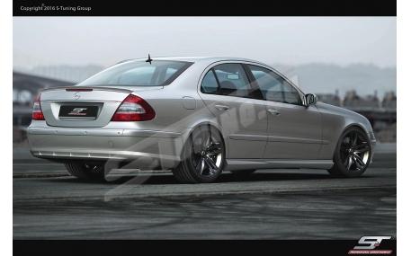 Накладка задняя Mercedes E-class W211