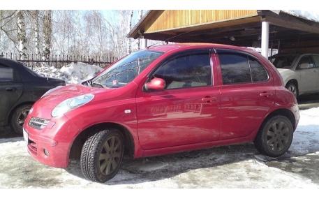 Дефлекторы окон Nissan Micra