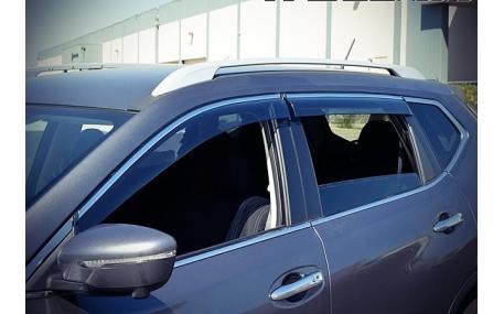 Дефлекторы окон Nissan Qashqai J11