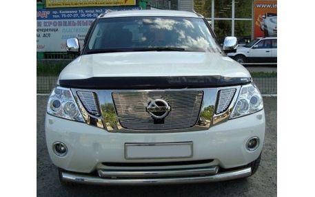 Дефлектор капота Nissan Patrol Y62