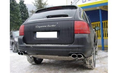 Насадка на глушитель Porsche Cayenne