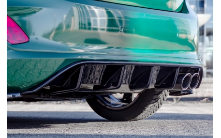 Накладка задняя Ford Fiesta