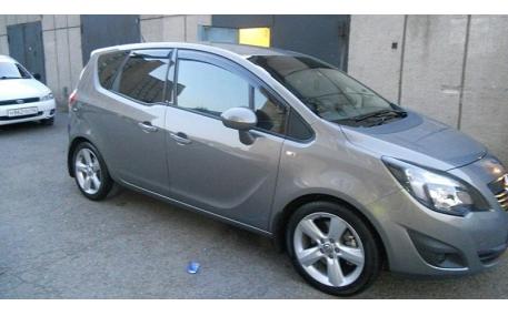 Дефлекторы окон Opel Meriva B