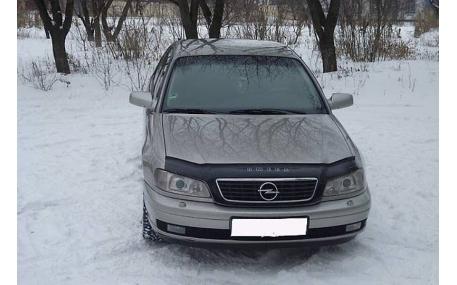 Дефлектор капота Opel Omega C