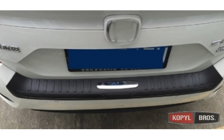 Накладка на задний бампер Honda Сivic