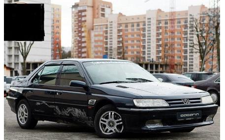 Дефлекторы окон Peugeot 605