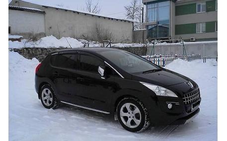 Дефлекторы окон Peugeot 3008