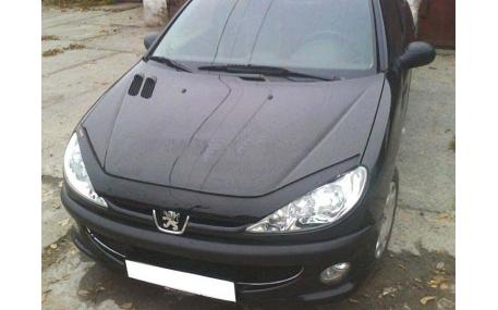 Дефлектор капота Peugeot 206