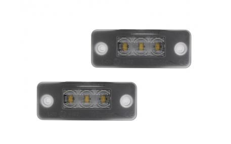 Подсветка номера Audi A8 D3