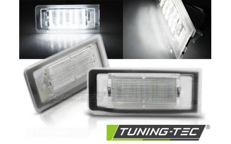 Подсветка номера Audi TT