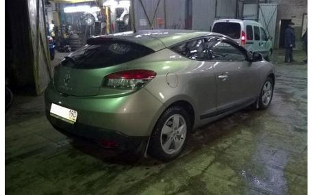 Дефлекторы окон Renault Megane