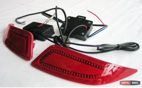 Дополнительная оптика Toyota Camry V55
