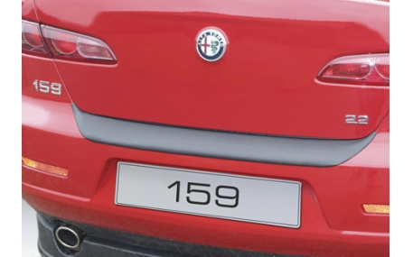 Накладка на задний бампер Alfa Romeo 159