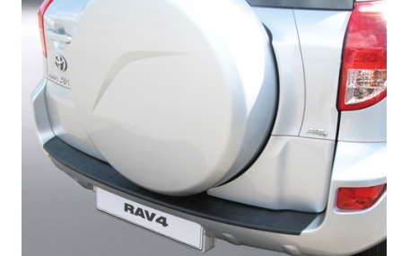 Накладка на задний бампер Toyota Rav4