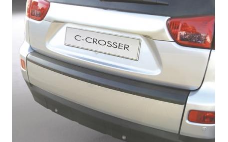 Накладка на задний бампер Citroen C-Crosser